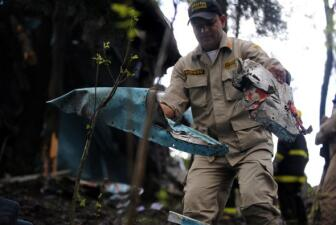 Se estrelló avioneta en Honduras