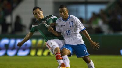 El hondureño Luis Garrido, quien sufrió escalofriante lesión ante México, volvió a jugar
