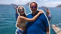 Mia conoce a su ídolo mientras El Gordo se atreve a saltar en el océano durante sus vacaciones