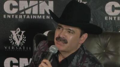 El vocalista de los Tucanes de Tijuana se recupera del golpe en la cabeza que le propinó un seguidor