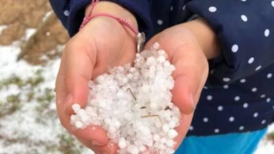 La lluvia y aguanieve continuarán a lo largo del Hill Country esta noche