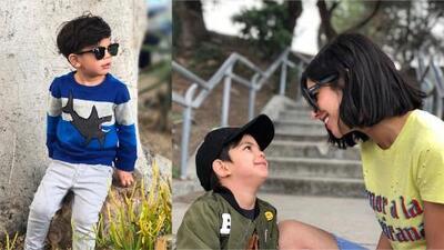El hijo de Alejandra Espinoza es todo un 'fashionista'