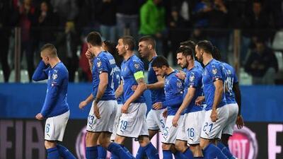 En fotos: la paliza de Italia sin piedad contra Liechtenstein en la eliminatoria de Eurocopa
