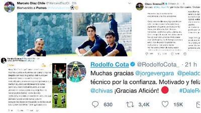 Las palabras de bienvenida y despedida de futbolistas de la Liga MX tras el Draft