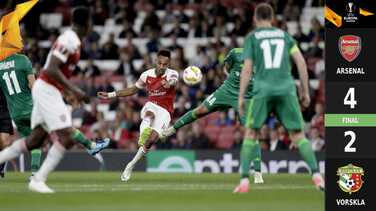 ¡Facilito y de buen modo! El Arsenal se impuso con facilidad al débil Vorskla Poltava