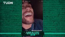 Neymar se burla de Boca Juniors y Leo Paredes