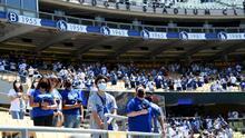 """""""De a poco vamos volviendo a lo cotidiano"""": Krauze y su reflexión sobre el regreso de los fans a un partido de los Dodgers"""