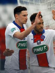 Paris Saint-Germain aplasta al Angers durante los Cuartos de Final de la Copa de Francia. Mauro Icardi se lució durante el partido, pues hizo un hat-trick. Le siguió un autogol por parte de Vincent Manceau al minuto 23, y Neymar sumó un tanto al minuto 65, dandole el pase a las Semifinales al equipo parisino con marcador de 5-0.