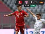 El Bayern Múnich se atora ante el Unión Berlín en la jornada 28