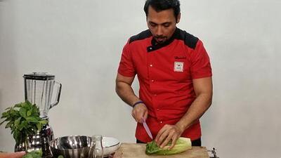Con una receta sencilla el chef del #Reto28 le enseña a cuidar su corazón