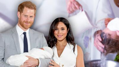 Suena el 4 de julio como fecha tentativa para el bautizo de Archie, el bebé de Meghan y Harry
