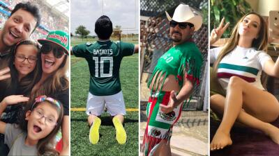 EN FOTOS: Así celebraron tus locutores favoritos el triunfo de México