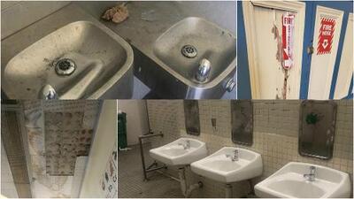 Heces de ratas y techos caídos: las condiciones de una escuela con mayoría hispana en San Francisco