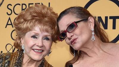 Debbie Reynolds escribió un agradecimiento por las condolencias sobre su hija, Carrie Fisher, y profetizó su propia muerte