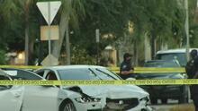 Un hombre en Hollywood desata una persecución tras confrontación con la policía y choca con dos autos