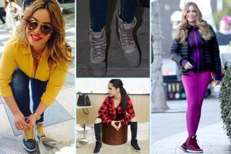 Chiquis, Becky G y otras famosas que tienen la misma debilidad en los pies