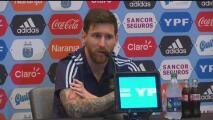 """Lionel Messi: """"Me encantaría ganar esta Copa América"""""""