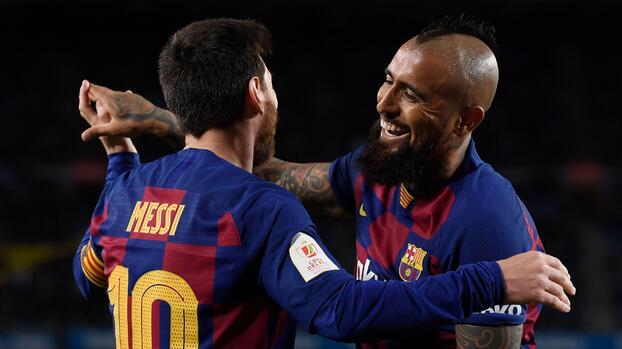 Messi se despide del 'Rey' Arturo con emotivo mensaje