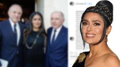 Salma Hayek asegura que no se reclamará deducciones fiscales por la donación de su esposo para Notre Dame