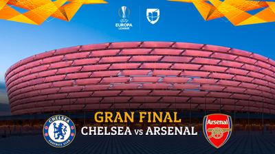 ¡Arde Bakú! Chelsea y Arsenal, una batalla de 90 minutos por la supremacía europea