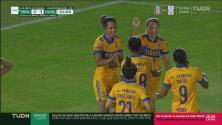 ¡Goleada en Juárez! Katty Martínez anota el cuarto gol de Tigres