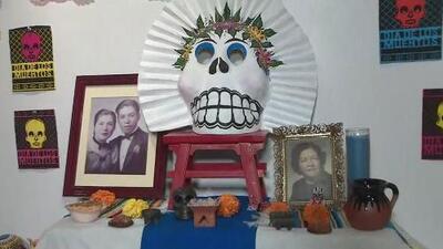 ¿Cómo armar un altar para homenajear a los seres queridos en el Día de los Muertos?