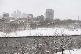 Así azotó la histórica tormenta de primavera a gran parte del centro de EEUU (fotos)