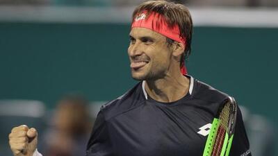 David Ferrer luce imponente al vencer a Sam Querrey en el Miami Open