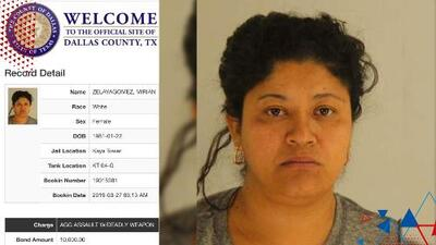 'Lady Frijoles' fue arrestada por alegado robo a mano armada
