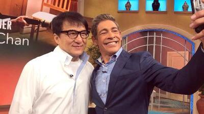 Detrás de cámaras: Descubrimos que Johnny Lozada y Jackie Chan tienen algo en común