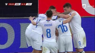 ¡GOOOL! Lorenzo Insigne anota para Italy