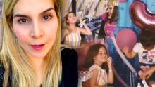 Karla Panini hizo su propia parodia del video viral de las niñas del pastel (pero limitó los comentarios)