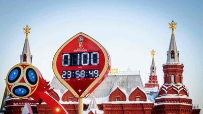 Fiesta en Rusia, a 100 días del inicio del Mundial
