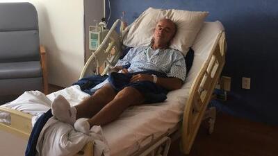 """Hospitalizado, Chelís reconoce: """"Mi salud no es buena"""""""