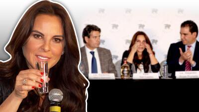 Critican a Kate del Castillo por promover su tequila mientras anunciaba millonaria demanda