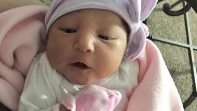 La bebé Sophia Victoria González fue secuestrada con tan solo 6 días de nacida