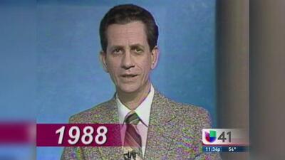 Rolman Vergara cumple 25 años en Univisión