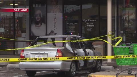 Policía de Dallas investiga el incendio de un auto en el que se encontraban tres menores de edad