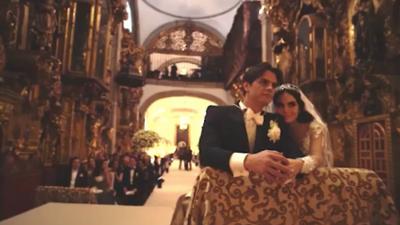 Ximena Navarrete comparte hermoso video de su boda con Juan Carlos Valladares