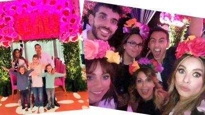 En fotos: te mostramos la fiesta de cumpleaños de Galilea Montijo