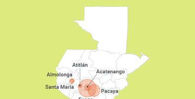 El Fuego: dos siglos de destructiva y letal historia del volcán más activo de Guatemala