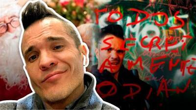 Kuno Becker odia la Navidad y advierte sobre los hombres que se disfrazan de Santa Claus