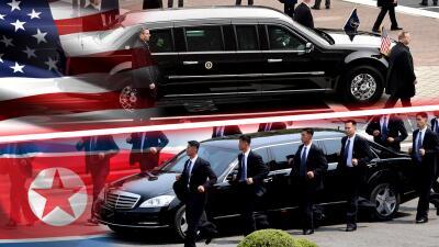 Duelo de limusinas presidenciales: Estados Unidos vs. Corea del Norte
