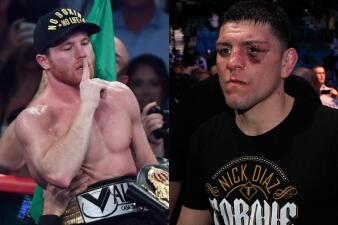 A lo Mayweather pero mexicano: a Canelo Álvarez lo reta un luchador de UFC para una pelea