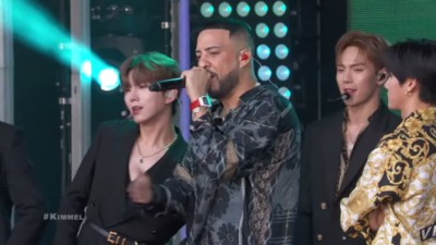 Monsta X and French Montana take the main stage on late night television