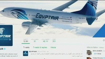 Desaparece avión de Egyptair