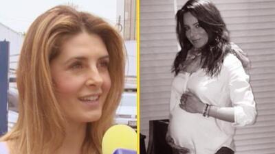 ¡Otra lengüilarga! Mayrín reveló el sexo del bebé de Silvia