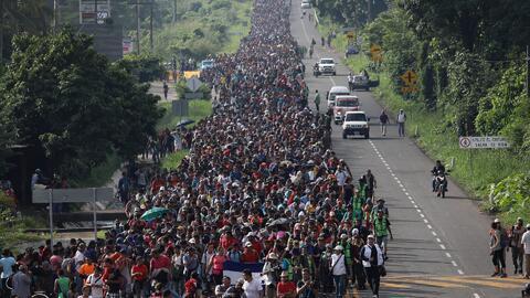 """Desde Centroamérica preparan """"la madre de todas las caravanas"""" rumbo a EEUU, según uno de sus gestores"""