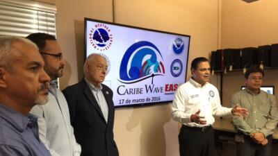 Todo listo para el tsunami Caribewave 2016