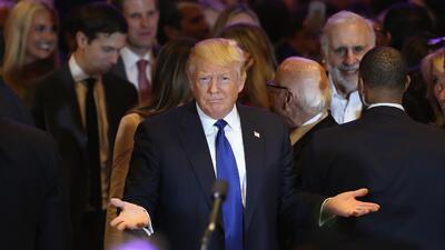 Crece la presión para que Donald Trump publique su declaración de impuestos